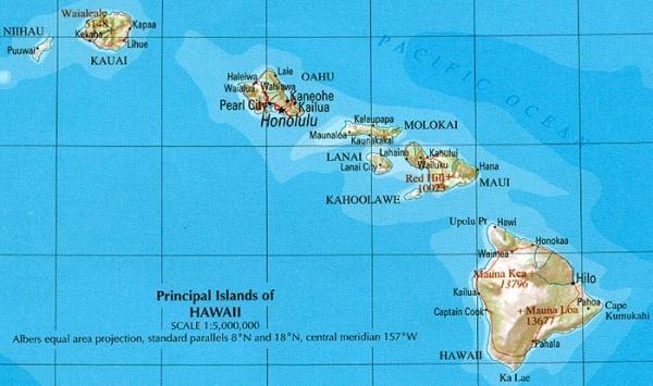 hawaii kart Hawaii kart   Svensken & Fingern hawaii kart